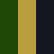 Black-Green-Khaki
